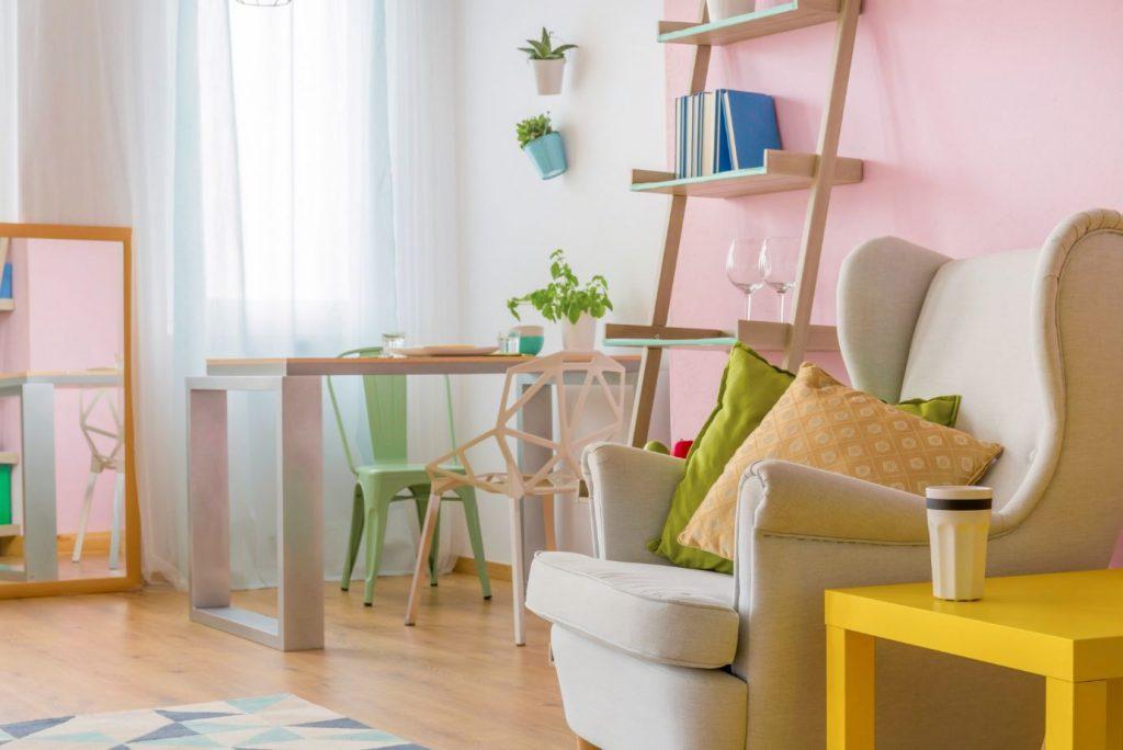 cute living room toronto